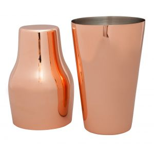 'Franse' Mezclar cocktail shaker 600 ml. RVS verkoperd